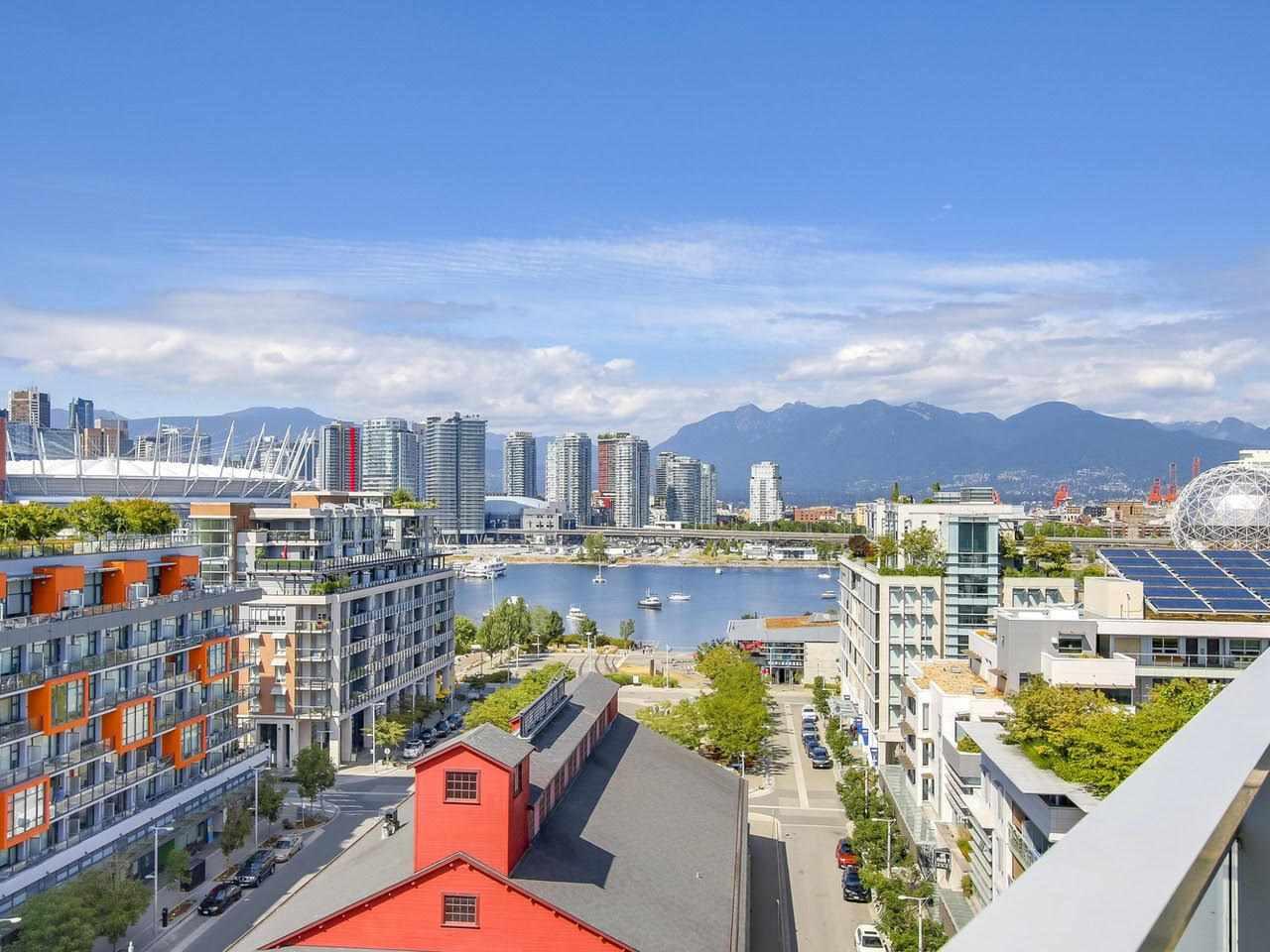 Condo Apartment at 1201 88 W 1ST AVENUE, Unit 1201, Vancouver West, British Columbia. Image 1