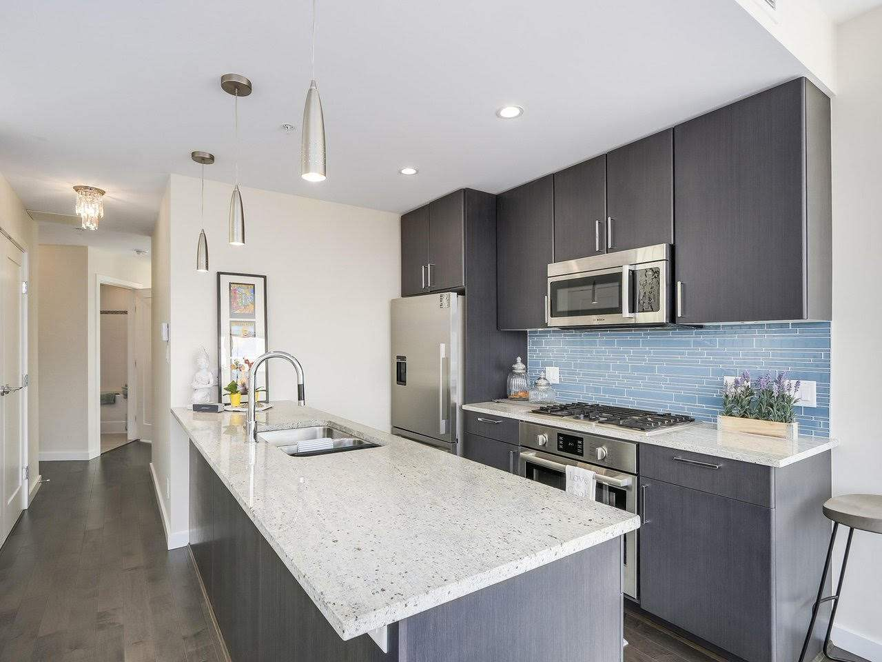 Condo Apartment at 1201 88 W 1ST AVENUE, Unit 1201, Vancouver West, British Columbia. Image 4