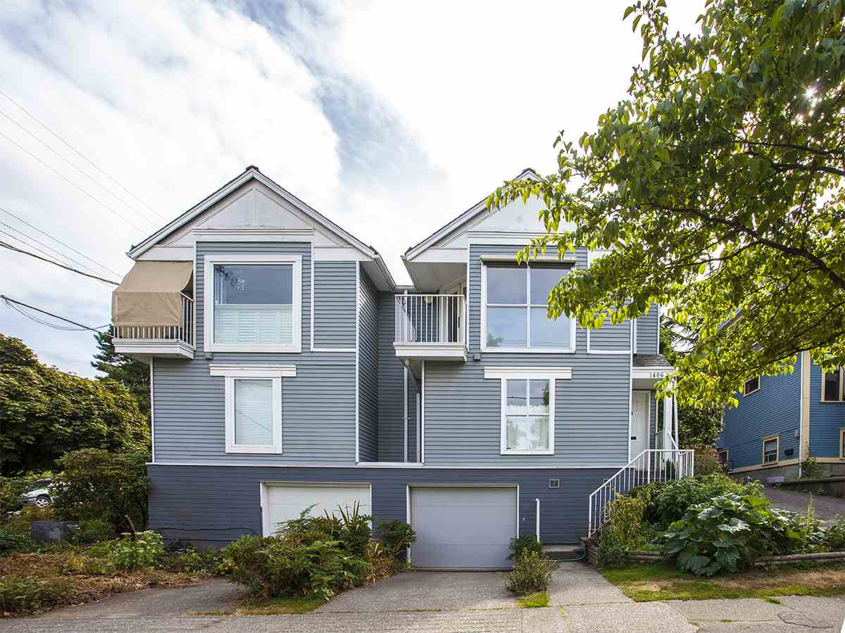 Townhouse at 1406 WOODLAND DRIVE, Vancouver East, British Columbia. Image 2