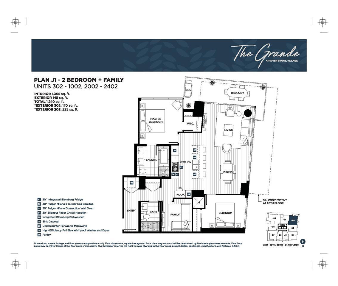 Condo Apartment at 302 300 MORRISSEY ROAD, Unit 302, Port Moody, British Columbia. Image 10