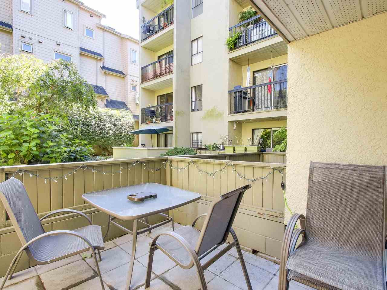 Condo Apartment at 210 1215 PACIFIC STREET, Unit 210, Vancouver West, British Columbia. Image 10