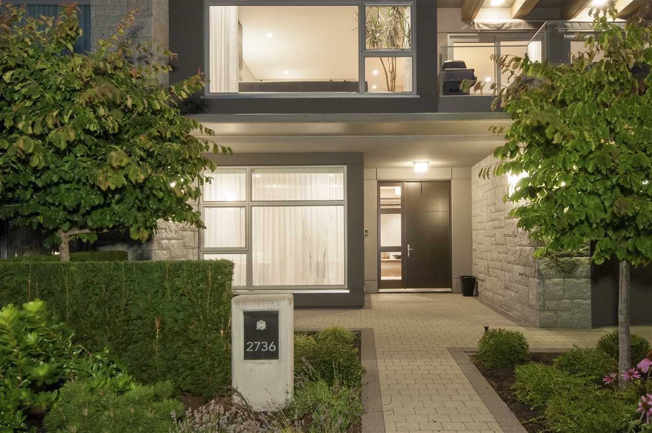 Townhouse at 2736 HIGHVIEW PLACE, West Vancouver, British Columbia. Image 3