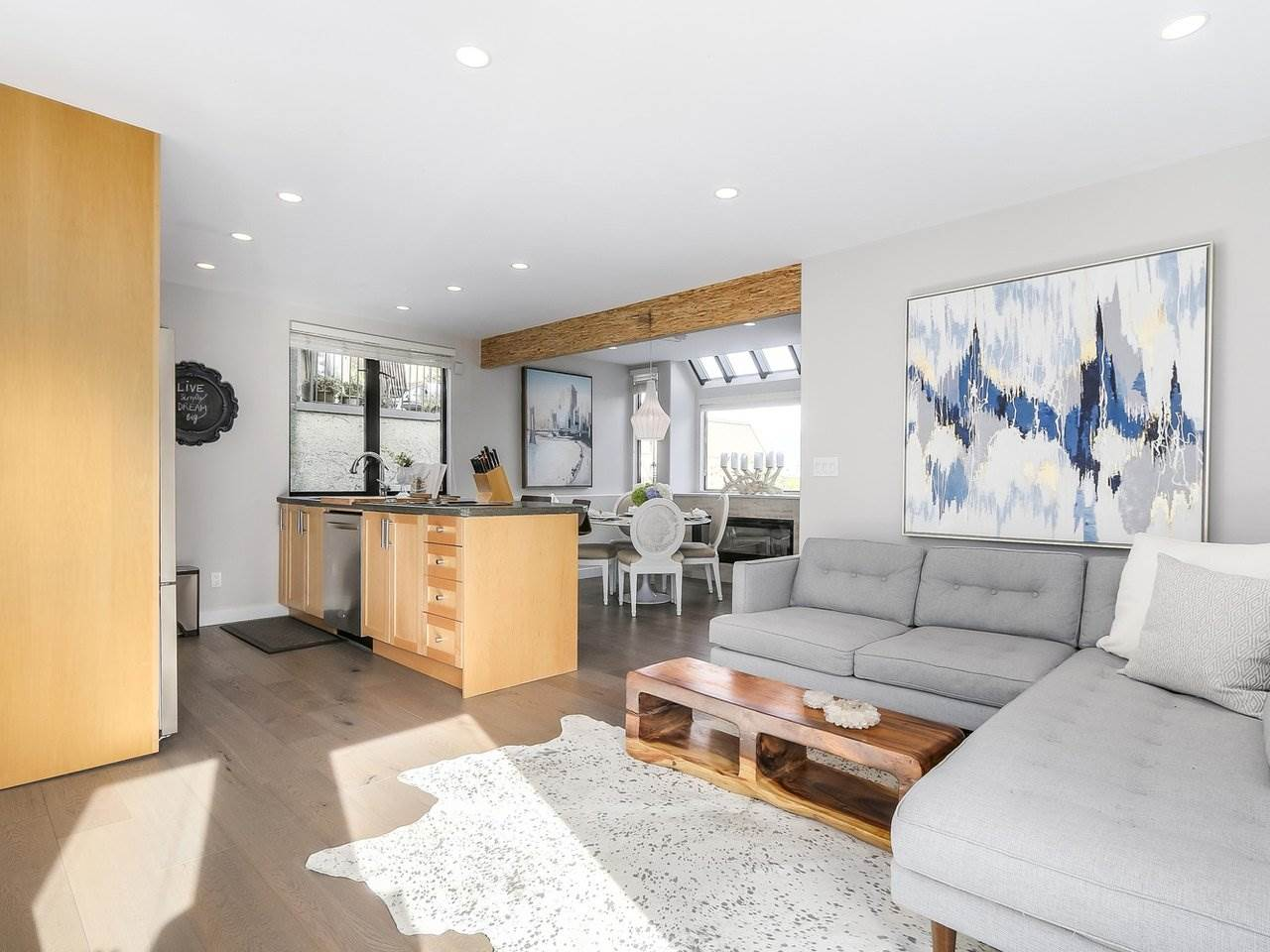 Townhouse at 956 W 7TH AVENUE, Vancouver West, British Columbia. Image 9