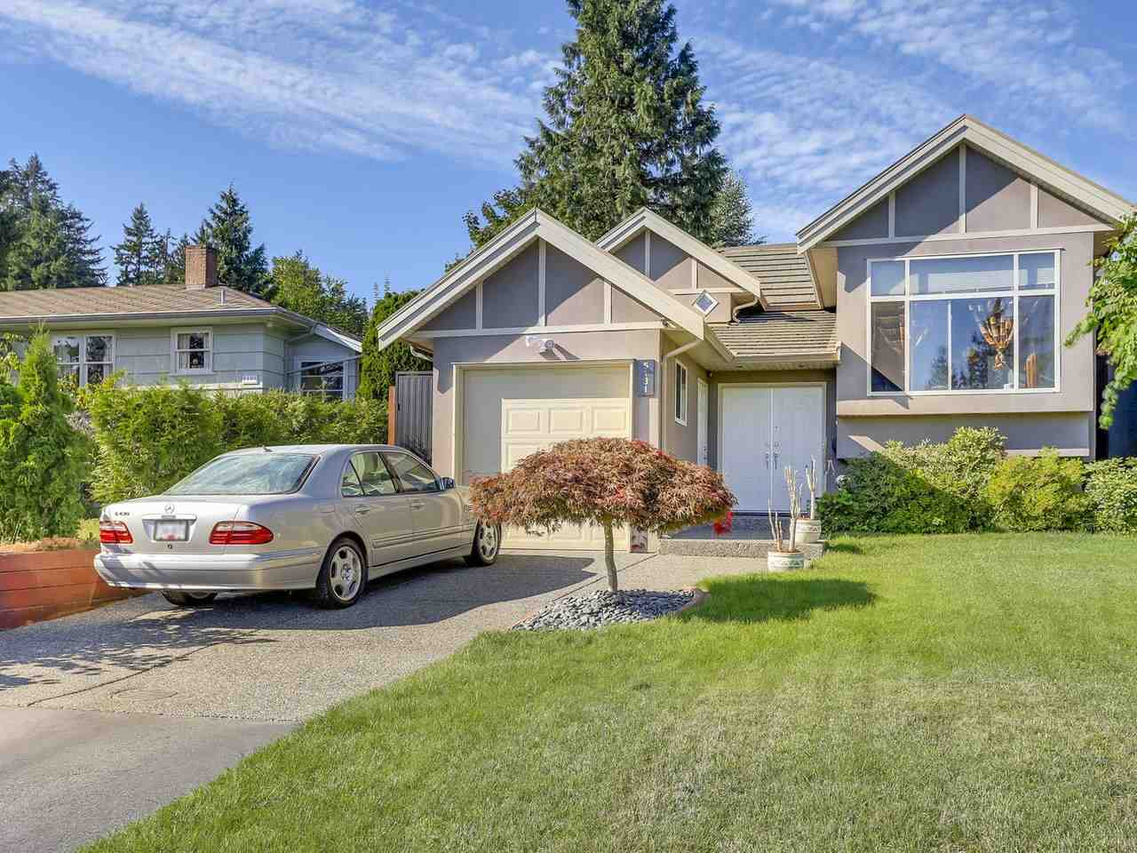 Half-duplex at 5131 CARSON STREET, Burnaby South, British Columbia. Image 1