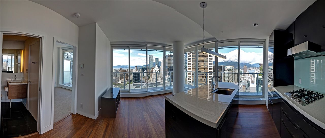 Condo Apartment at 3706 777 RICHARDS STREET, Unit 3706, Vancouver West, British Columbia. Image 5