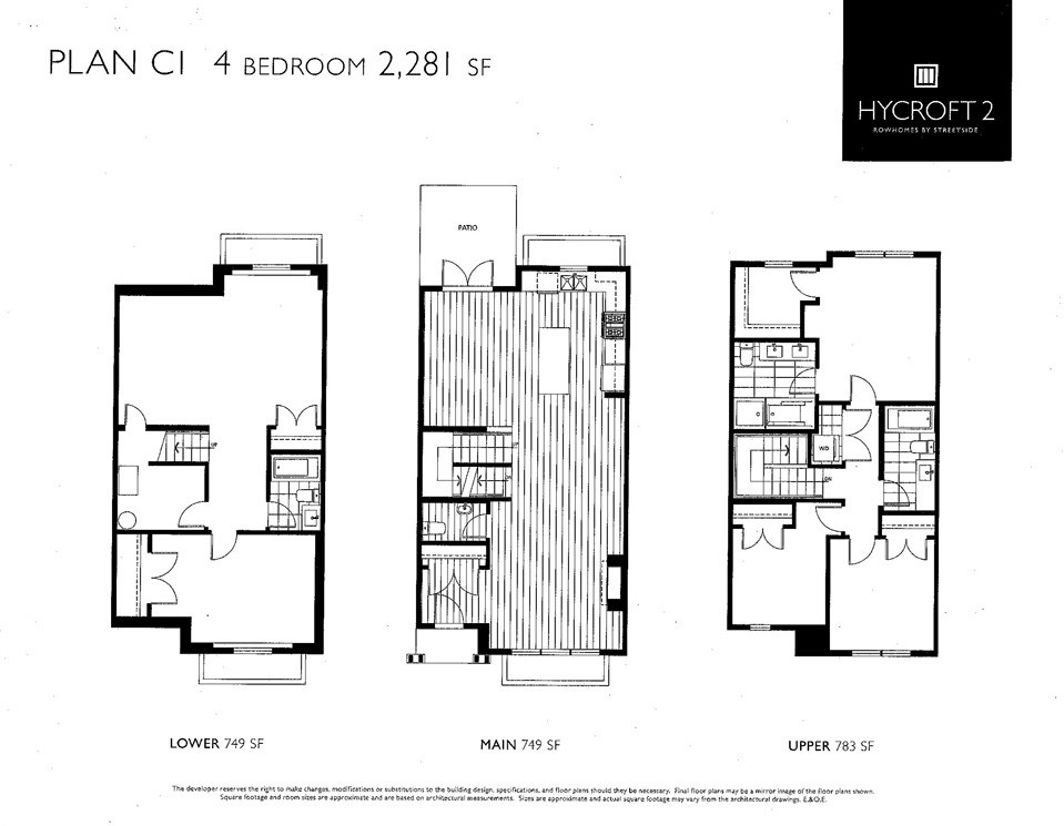 Townhouse at 16432 24A AVENUE, South Surrey White Rock, British Columbia. Image 14