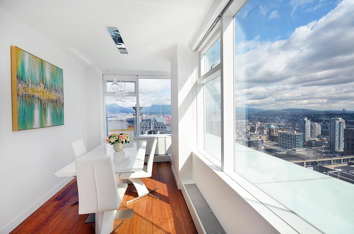 Condo Apartment at 3907 777 RICHARDS STREET, Unit 3907, Vancouver West, British Columbia. Image 1