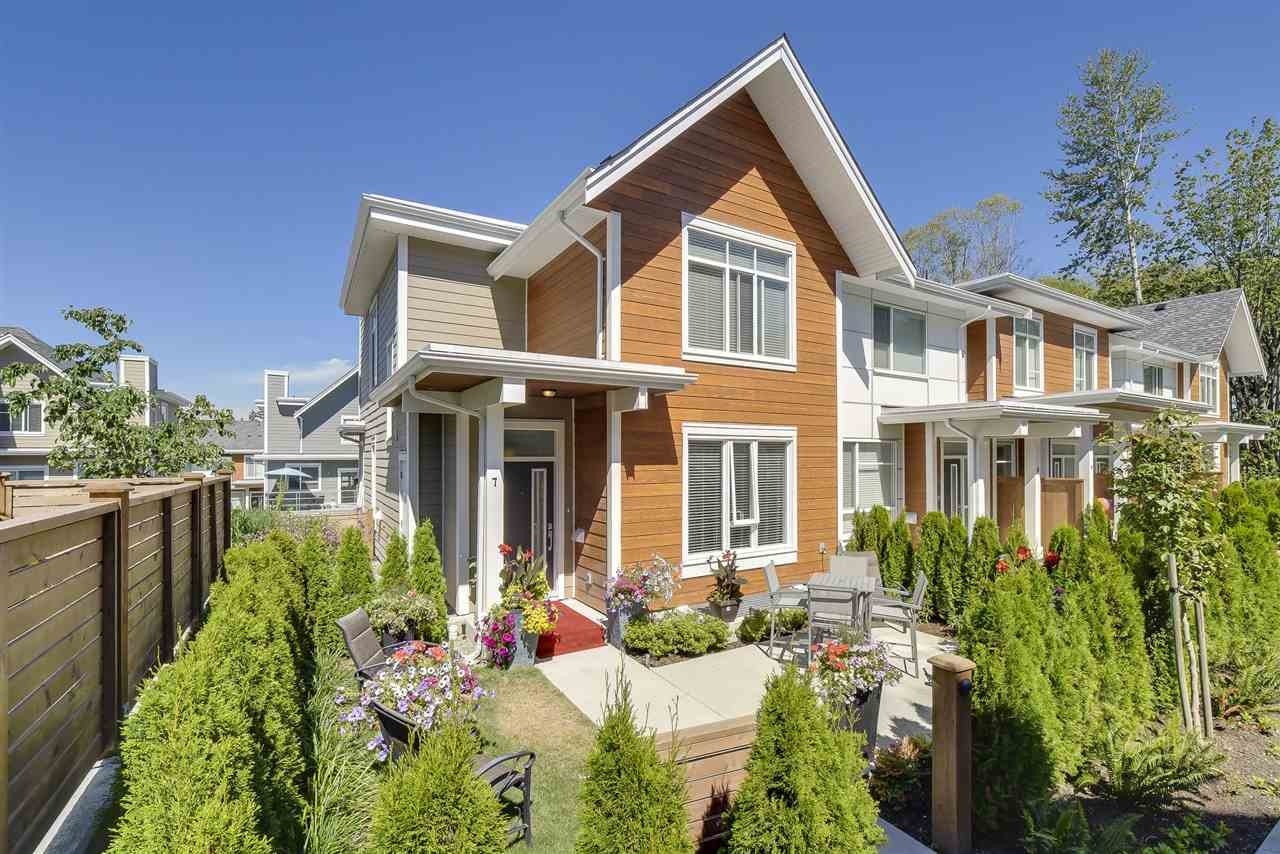 Townhouse at 7 2978 159TH STREET, Unit 7, South Surrey White Rock, British Columbia. Image 1