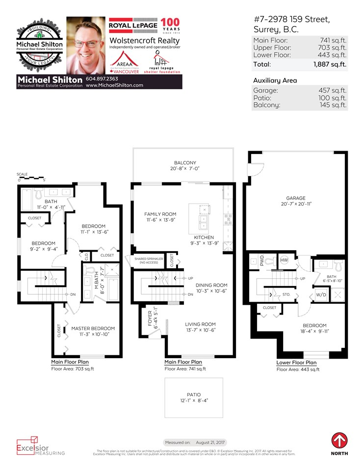 Townhouse at 7 2978 159TH STREET, Unit 7, South Surrey White Rock, British Columbia. Image 19