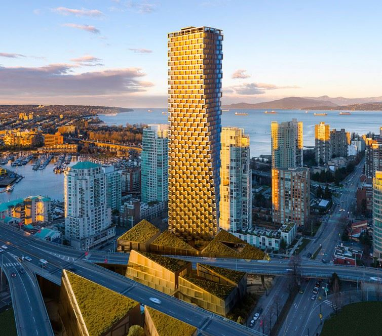 Condo Apartment at 3103 1480 HOWE STREET, Unit 3103, Vancouver West, British Columbia. Image 1