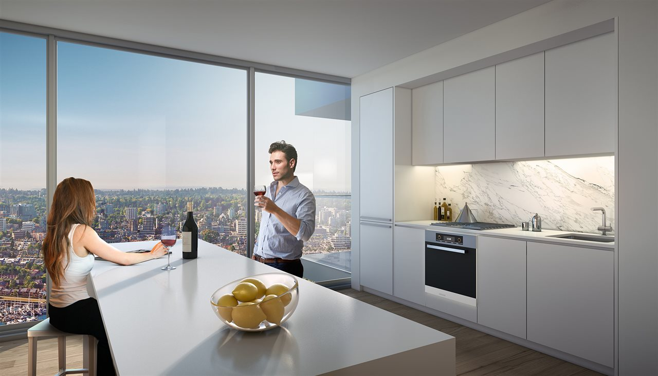 Condo Apartment at 3103 1480 HOWE STREET, Unit 3103, Vancouver West, British Columbia. Image 3