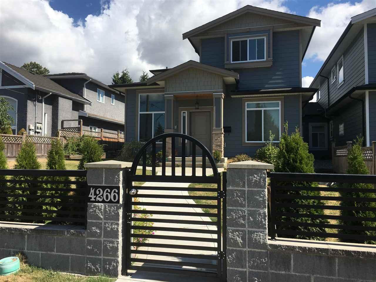 Half-duplex at 4266 CARLETON AVENUE, Burnaby South, British Columbia. Image 1