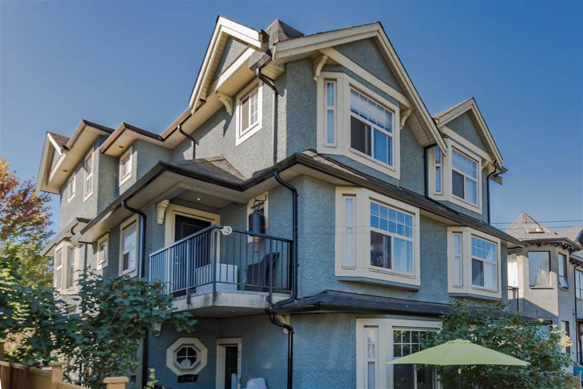 Townhouse at 2168 FRANKLIN STREET, Vancouver East, British Columbia. Image 1