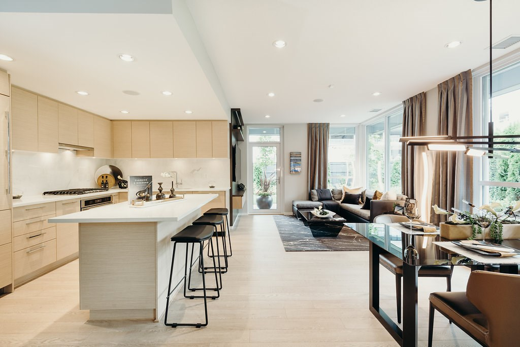 Townhouse at 103 6700 DUNBLANE AVENUE, Unit 103, Burnaby South, British Columbia. Image 6