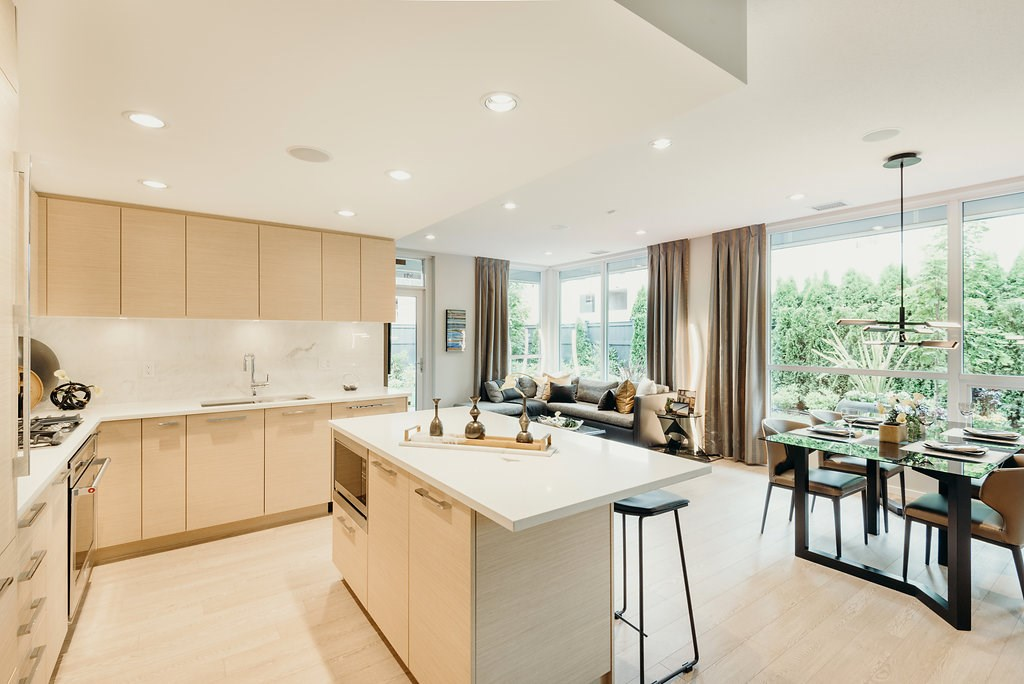 Townhouse at 103 6700 DUNBLANE AVENUE, Unit 103, Burnaby South, British Columbia. Image 7