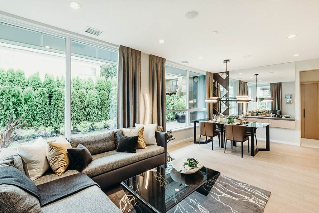 Townhouse at 103 6700 DUNBLANE AVENUE, Unit 103, Burnaby South, British Columbia. Image 9