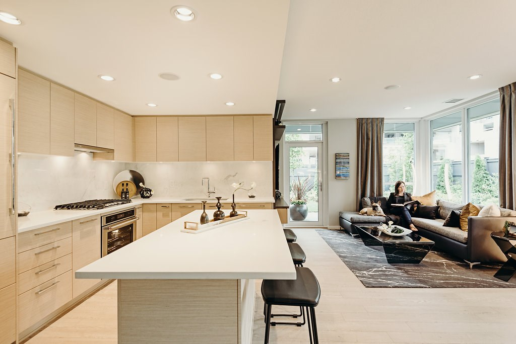 Townhouse at 103 6700 DUNBLANE AVENUE, Unit 103, Burnaby South, British Columbia. Image 10