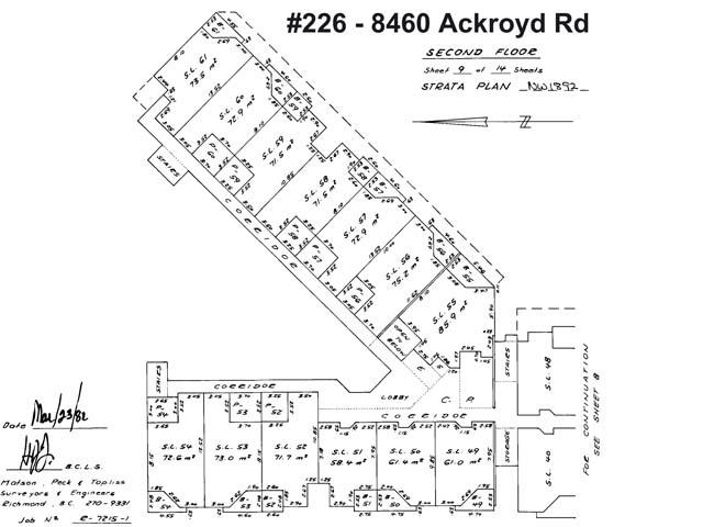 Condo Apartment at 226 8460 ACKROYD ROAD, Unit 226, Richmond, British Columbia. Image 2