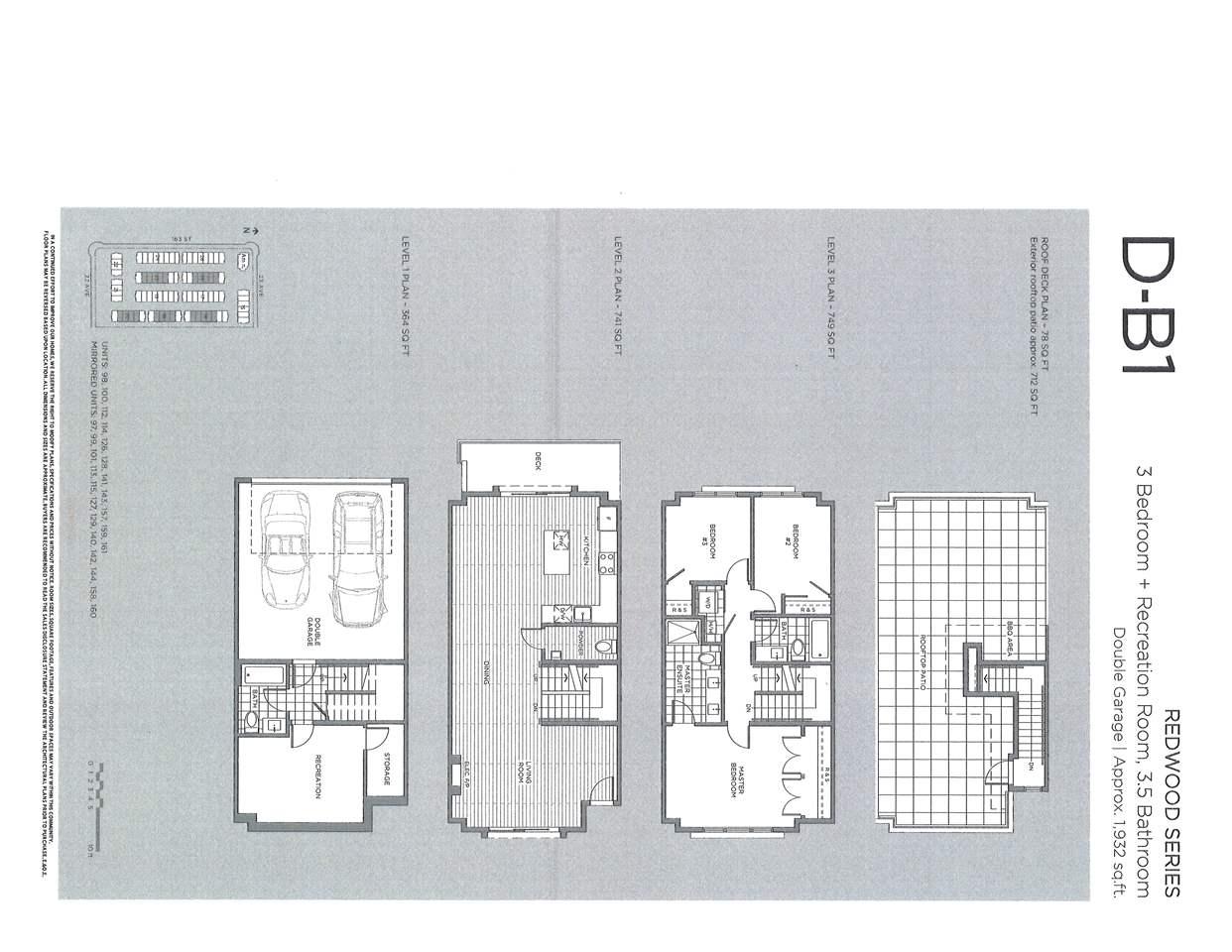 Townhouse at 97 2280 163 STREET, Unit 97, South Surrey White Rock, British Columbia. Image 4