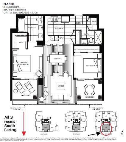 Condo Apartment at 1006 2955 ATLANTIC AVENUE, Unit 1006, Coquitlam, British Columbia. Image 5