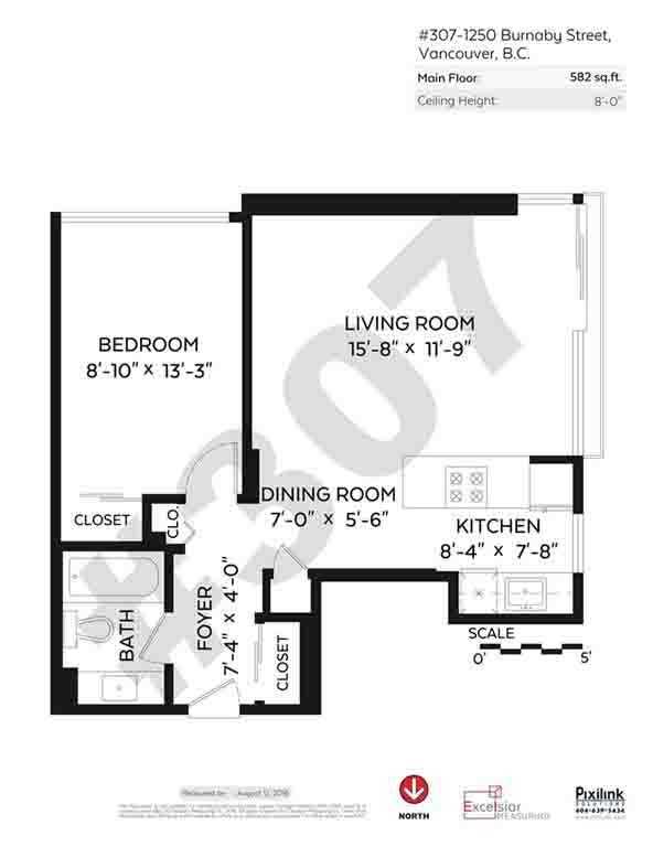 Condo Apartment at 507 1250 BURNABY STREET, Unit 507, Vancouver West, British Columbia. Image 20