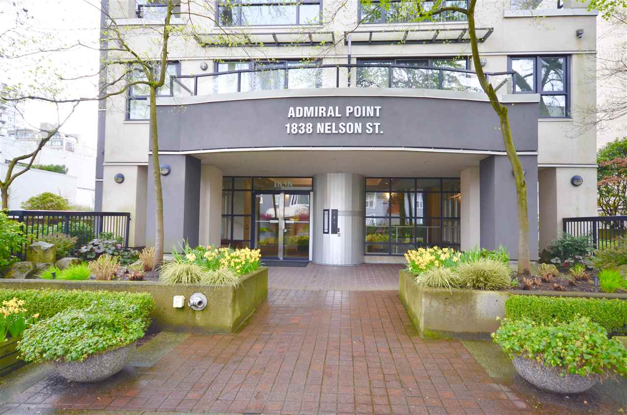 Condo Apartment at 901 1838 NELSON STREET, Unit 901, Vancouver West, British Columbia. Image 2