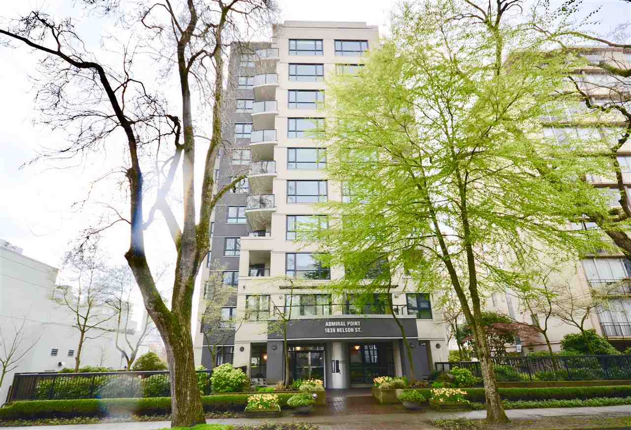 Condo Apartment at 901 1838 NELSON STREET, Unit 901, Vancouver West, British Columbia. Image 4
