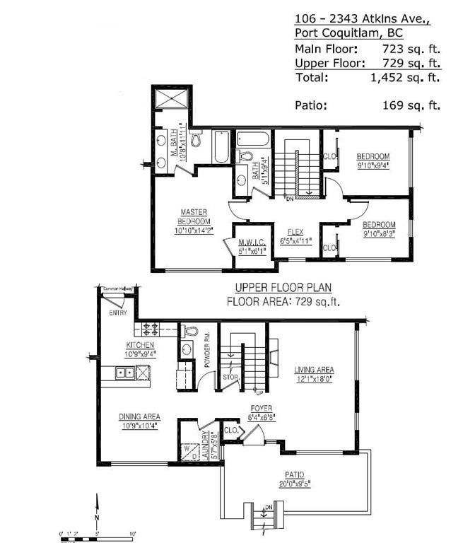 Condo Apartment at 106 2343 ATKINS AVENUE, Unit 106, Port Coquitlam, British Columbia. Image 20