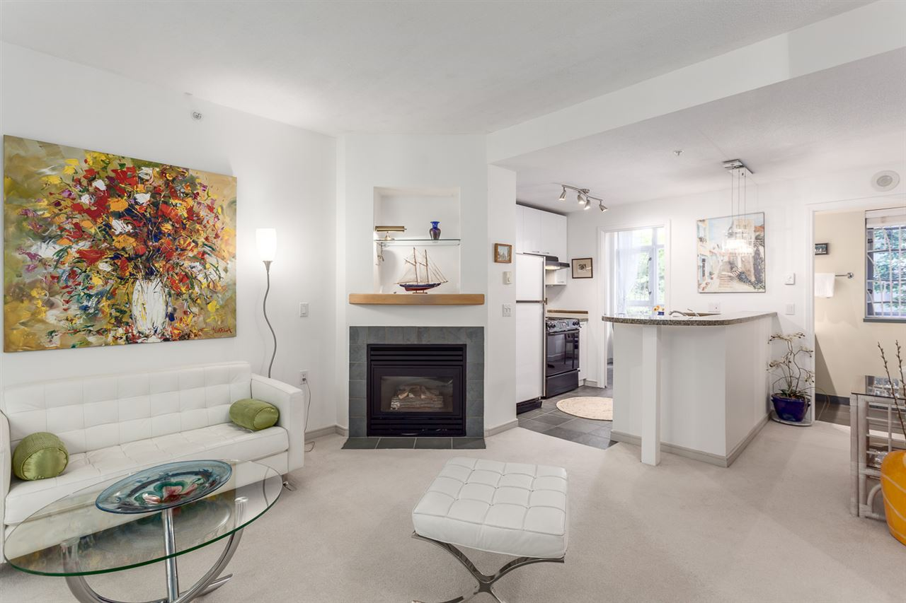 Townhouse at 102 1068 HORNBY STREET, Unit 102, Vancouver West, British Columbia. Image 5