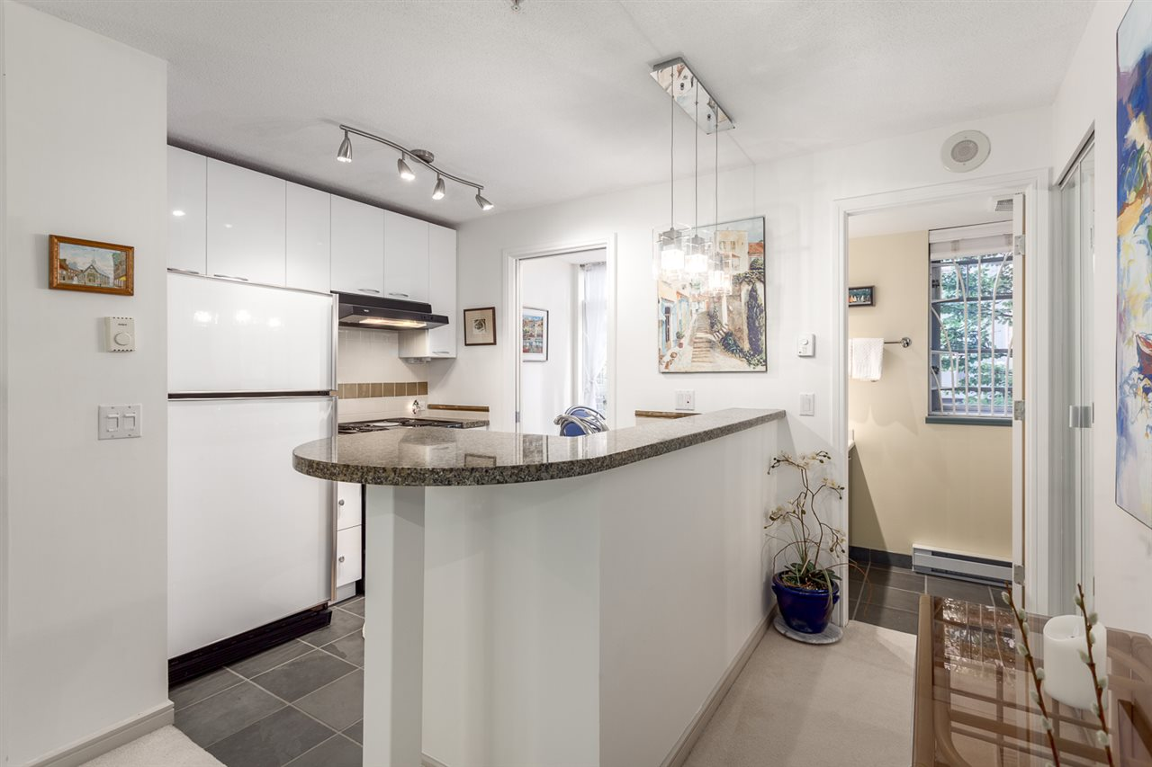 Townhouse at 102 1068 HORNBY STREET, Unit 102, Vancouver West, British Columbia. Image 7