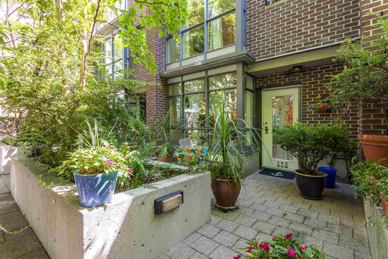 Townhouse at 102 1068 HORNBY STREET, Unit 102, Vancouver West, British Columbia. Image 15