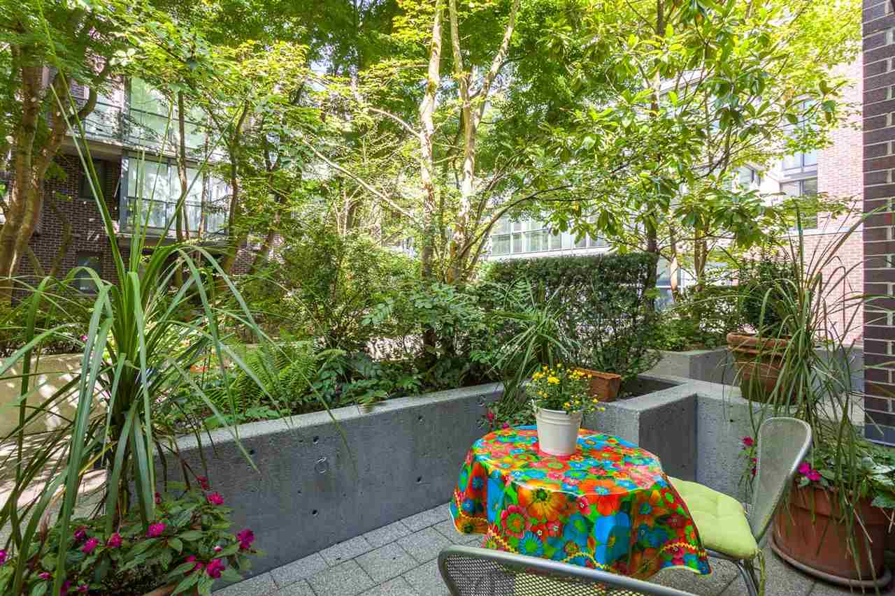 Townhouse at 102 1068 HORNBY STREET, Unit 102, Vancouver West, British Columbia. Image 16