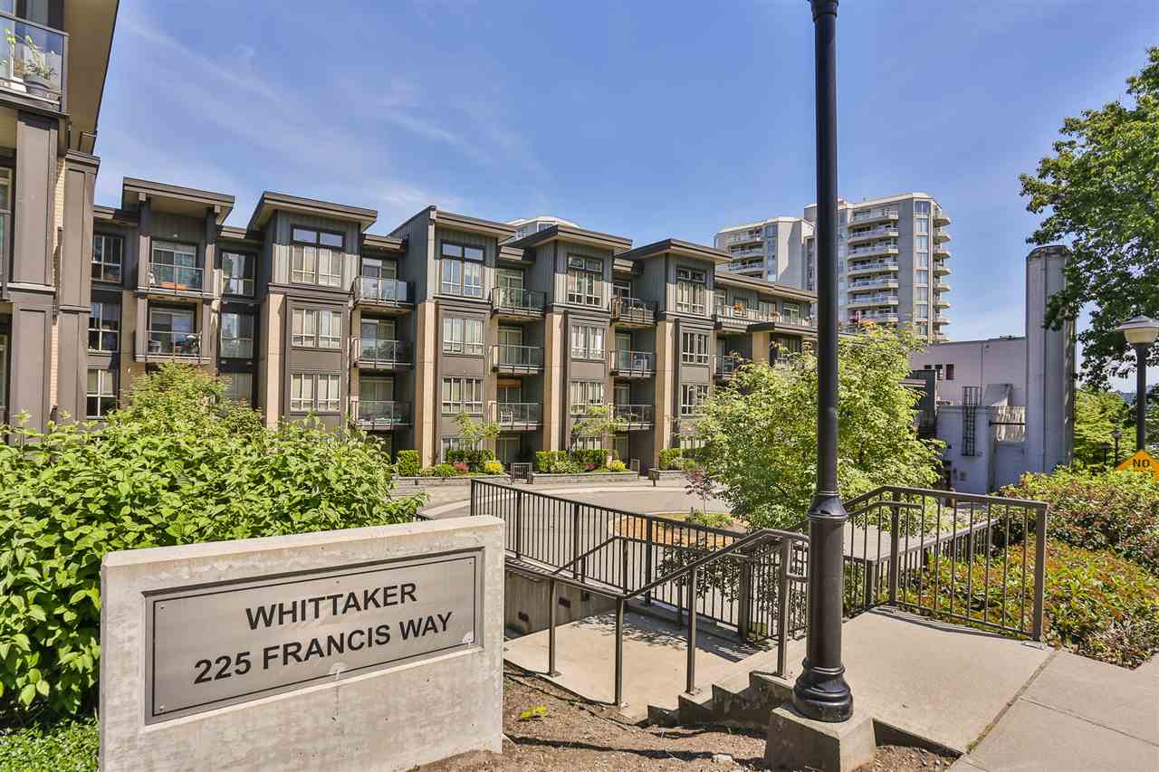 Condo Apartment at 318 225 FRANCIS WAY, Unit 318, New Westminster, British Columbia. Image 1