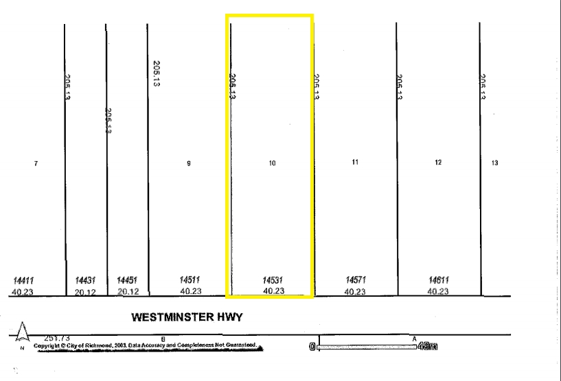 Vacant Land at 14531 WESTMINSTER HIGHWAY, Richmond, British Columbia. Image 1