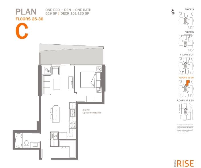 Condo Apartment at 3305 11967 80TH AVENUE, Unit 3305, N. Delta, British Columbia. Image 11