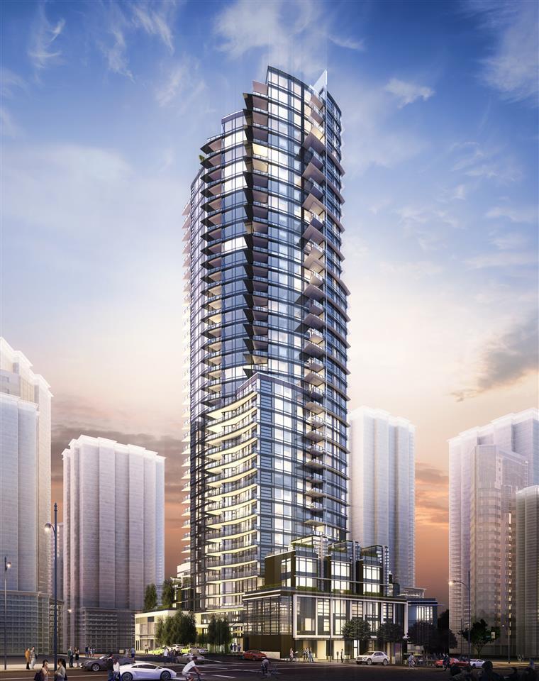 Condo Apartment at 4202 1283 HOWE STREET, Unit 4202, Vancouver West, British Columbia. Image 3