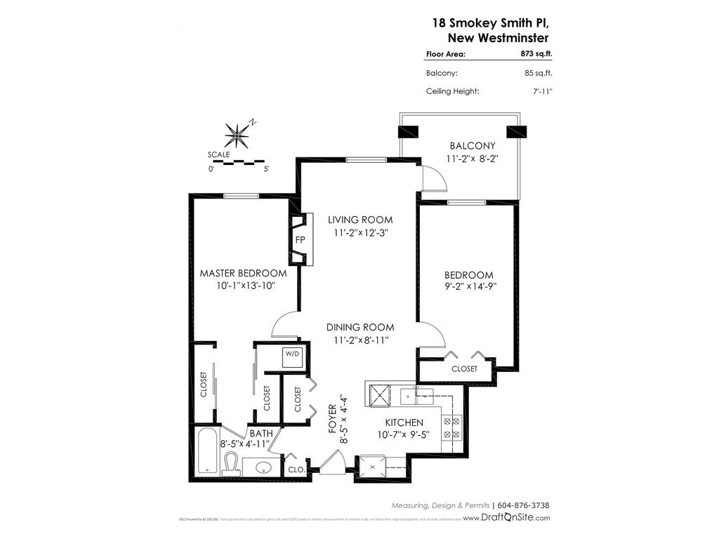 Condo Apartment at 314 18 SMOKEY SMITH PLACE, Unit 314, New Westminster, British Columbia. Image 20