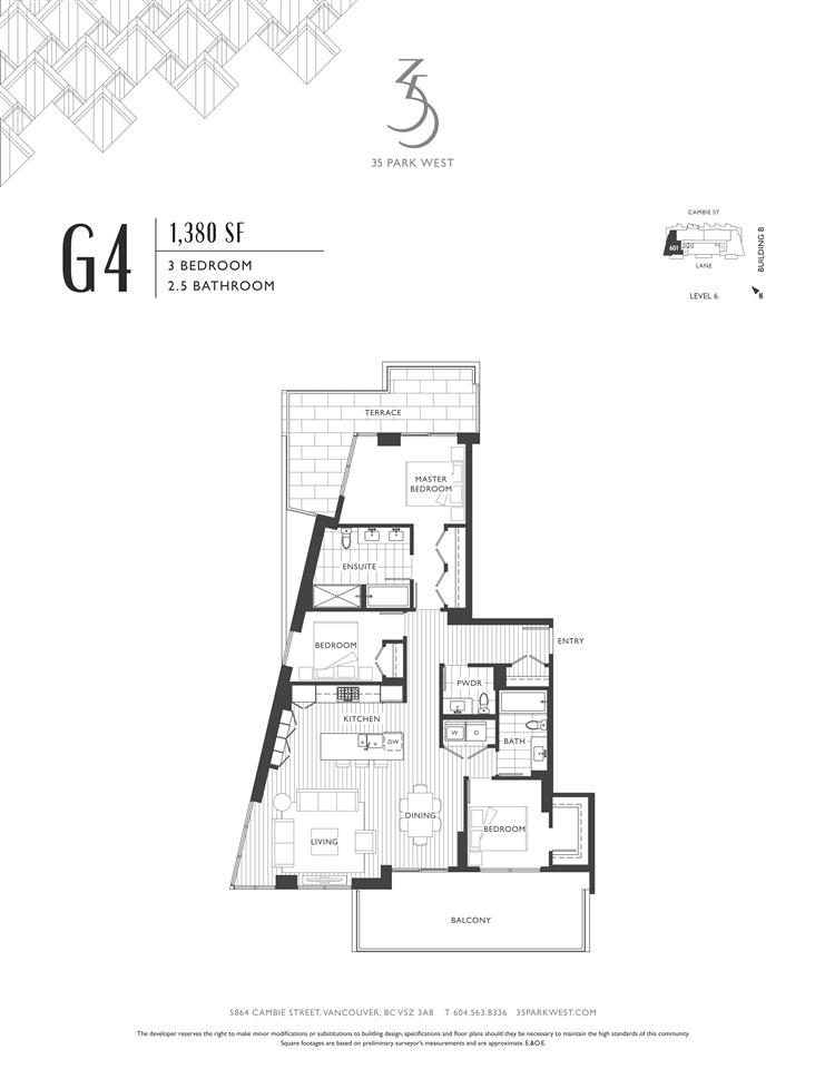 Condo Apartment at B501 4951 CAMBIE STREET, Unit B501, Vancouver West, British Columbia. Image 8