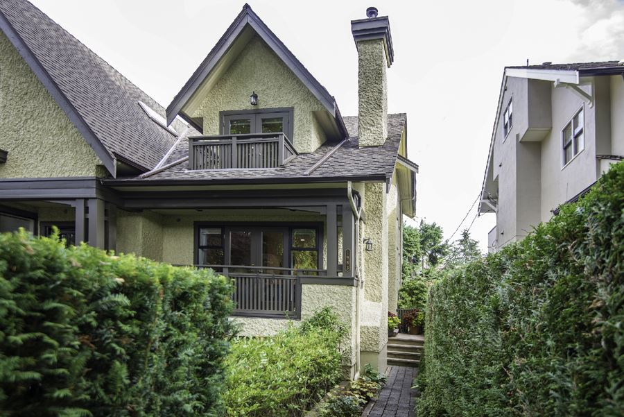Townhouse at 1983 W 13TH AVENUE, Vancouver West, British Columbia. Image 1