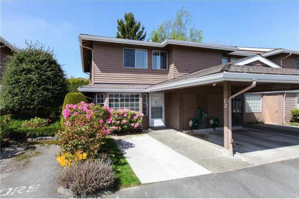Townhouse at 12 7740 ABERCROMBIE DRIVE, Unit 12, Richmond, British Columbia. Image 1