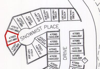 Vacant Land at 47002 SNOWMIST PLACE, Mission, British Columbia. Image 1