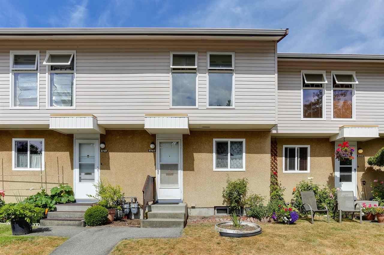 Townhouse at 6760 ARLINGTON STREET, Vancouver East, British Columbia. Image 3
