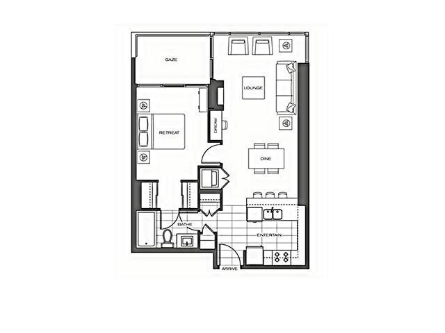 Condo Apartment at 1002 7325 ARCOLA STREET, Unit 1002, Burnaby South, British Columbia. Image 18