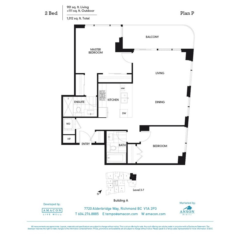 Condo Apartment at 511A 7688 ALDERBRIDGE WAY, Unit 511A, Richmond, British Columbia. Image 19