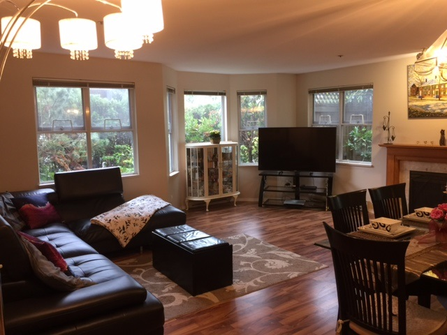 Condo Apartment at 108 1518 W 70TH AVENUE, Unit 108, Vancouver West, British Columbia. Image 4