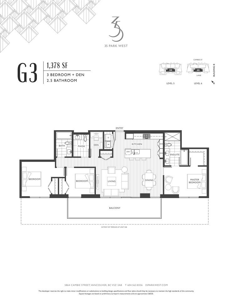 Condo Apartment at B505 4951 CAMBIE STREET, Unit B505, Vancouver West, British Columbia. Image 8