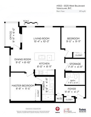 Condo Apartment at 302 5325 WEST BOULEVARD, Unit 302, Vancouver West, British Columbia. Image 20