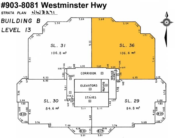 Condo Apartment at 903 8081 WESTMINSTER HIGHWAY, Unit 903, Richmond, British Columbia. Image 2