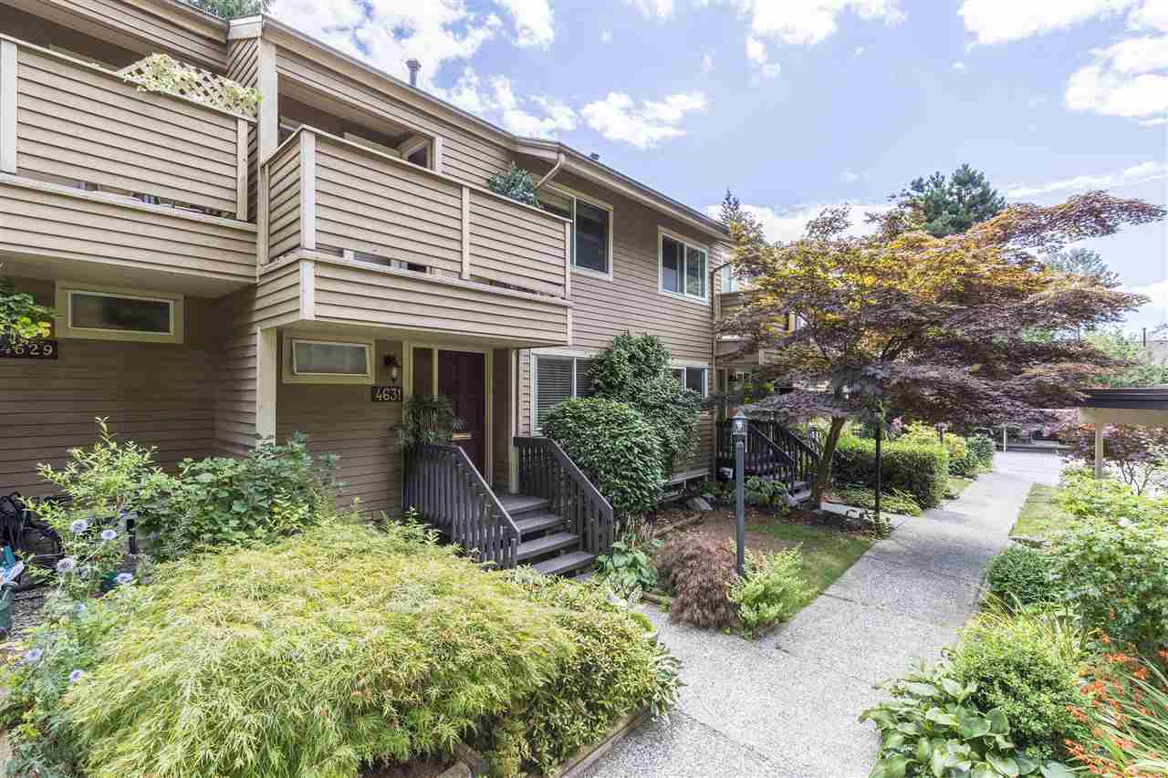 Townhouse at 4631 HOSKINS ROAD, North Vancouver, British Columbia. Image 1