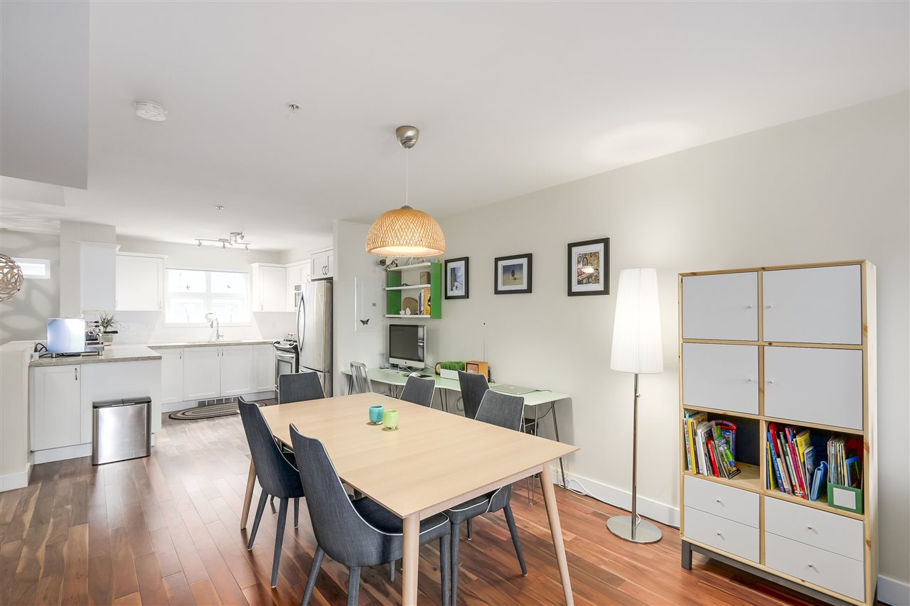 Townhouse at 202 1676 E PENDER STREET, Unit 202, Vancouver East, British Columbia. Image 7